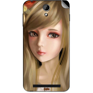 Instyler Mobile Skin Sticker For Oppo R815T MsoppoR815TDs-10068