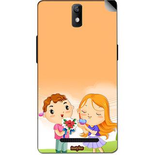 Instyler Mobile Skin Sticker For Oppo R7005 MsoppoR7005Ds-10055