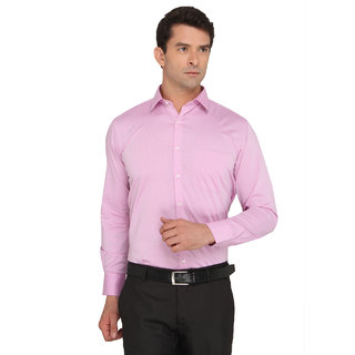 Donear Nxg Pink Color Cotton Formal Shirt