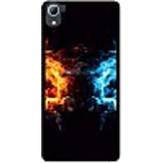 FurnishFantasy Back Cover for HTC Desire 826 (Multicolor)