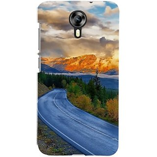 FurnishFantasy Back Cover for Micromax Canvas Nitro 4G, Micromax Canvas Nitro 4G E455 (Multicolor)
