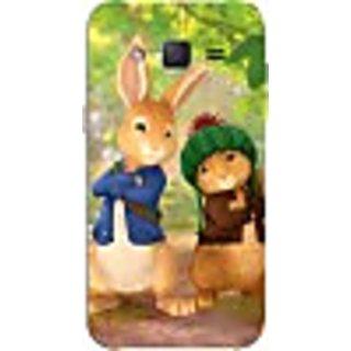 FurnishFantasy Back Cover for Samsung Galaxy J2 (Multicolor)