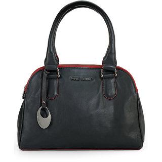 Phive Rivers Women Handbag (Black) (PR1096)