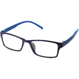 St Black Frame And Blue Temple  Combination Spectacle Frames For Men And Women-Stfrm080