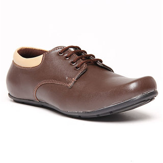 Foster Blue Brown Men's Formal Stylish Shoes