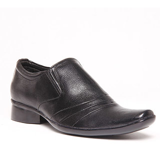 Foster Blue Black Men's Formal Shoes - Option 2