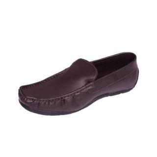 Foster Blue Brown Men's Loafer Shoes - Option 5