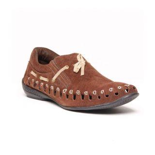 Foster Blue Brown Men's Loafer Shoes - Option 6