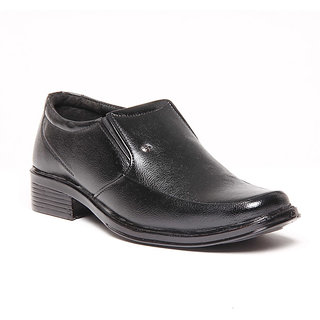 Foster Blue Black Men's Formal Shoes - Option 14
