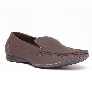 Foster Blue Brown Men's Loafer Shoes - Option 8