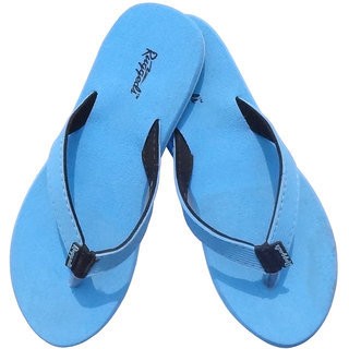23e90f0e9fe2 Buy Ruggeds Womens Blue Slippers Online   ₹299 from ShopClues