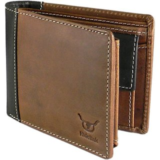 N N Leathers Brown Leather Wallet