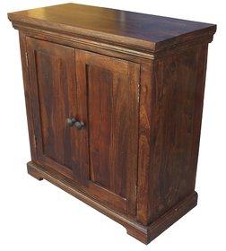 Wood 2 Door rack