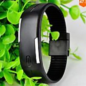 NEW Robotic Magnetic LED Watch