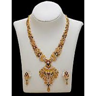 Traditional Style Silver Necklace