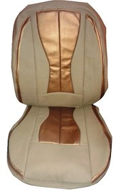 ZoHa Genuine leather  car seat cover for HYUNDAI i20 in DARK MASHROOM and GOLDEN