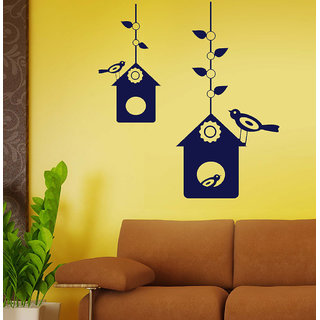 Wall Sticker  Birds With Living Room @ New Way Decals(4603)