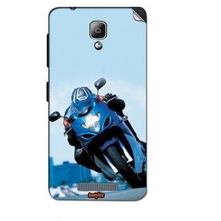Instyler Mobile Skin Sticker For Lenovo A1000 MSLENOVOA1000DS-10031