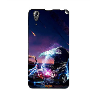 Instyler Mobile Skin Sticker For Lenovo A6000 MSLENOVOA6000DS-10032