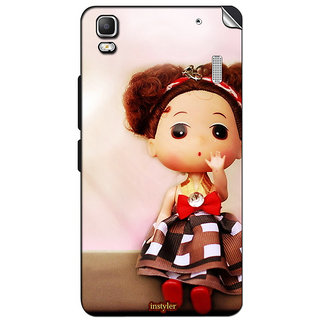 Instyler Mobile Skin Sticker For Lenovo A7000 MSLENOVOA7000DS-10062