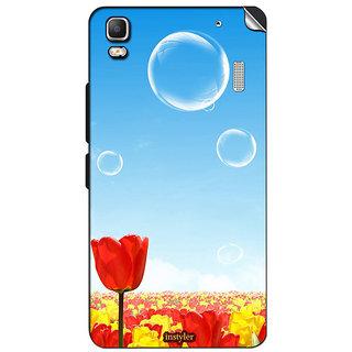 Instyler Mobile Skin Sticker For Lenovo A7000 MSLENOVOA7000DS-10079