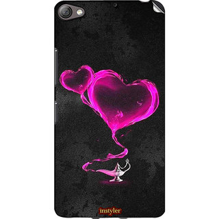 Instyler Mobile Skin Sticker For Lenovo S60 MSLENOVOS60DS-10109