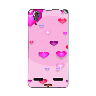 Instyler Mobile Skin Sticker For Lenovo A6000 MSLENOVOA6000DS-10132