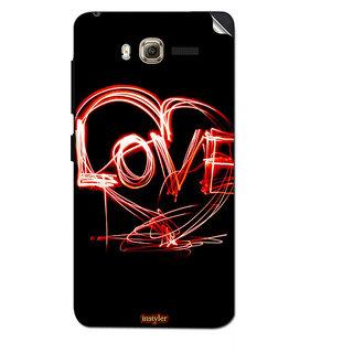Instyler Mobile Skin Sticker For Lenovo A916 MSLENOVOA916DS-10121