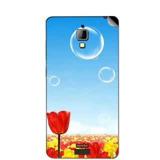 Instyler Mobile Skin Sticker For Lenovo S660 MSLENOVOS660DS-10079