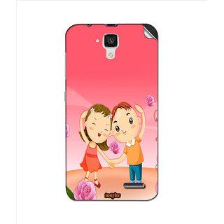 Instyler Mobile Skin Sticker For Lenovo A536 MSLENOVOA536DS-10056