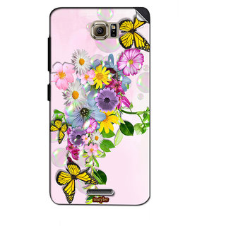 Instyler Mobile Skin Sticker For Lenovo S860E MSLENOVOS860EDS-10046