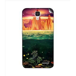 Instyler Mobile Skin Sticker For Lenovo A536 MSLENOVOA536DS-10152