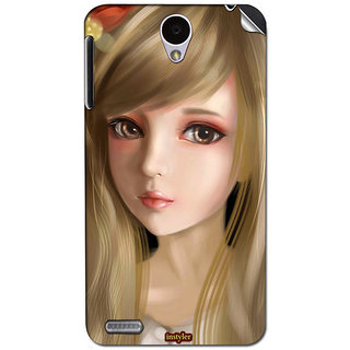 Instyler Mobile Skin Sticker For Lenovo A850 MSLENOVOA850DS-10068