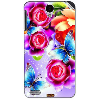 Instyler Mobile Skin Sticker For Lenovo A850 MSLENOVOA850DS-10077