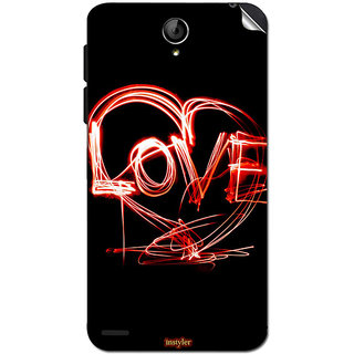 Instyler Mobile Skin Sticker For Lenovo S650 MSLENOVOS650DS-10121