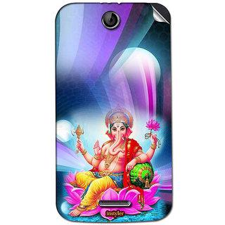 Instyler Mobile Skin Sticker For Lenovo S899T MSLENOVOS899TDS-10090