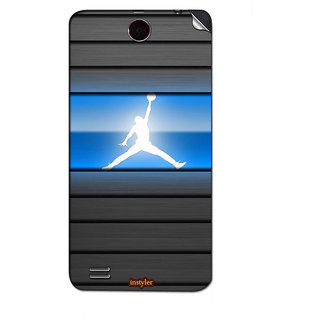 Instyler Mobile Skin Sticker For Lenovo A590 MSLENOVOA590DS-10141
