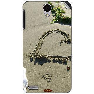 Instyler Mobile Skin Sticker For Lenovo A850 MSLENOVOA850DS-10105