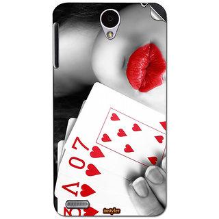 Instyler Mobile Skin Sticker For Lenovo A850 MSLENOVOA850DS-10106