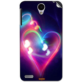 Instyler Mobile Skin Sticker For Lenovo A850 MSLENOVOA850DS-10118