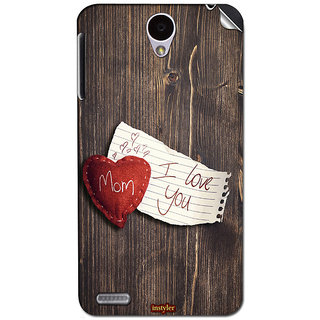 Instyler Mobile Skin Sticker For Lenovo A850 MSLENOVOA850DS-10128