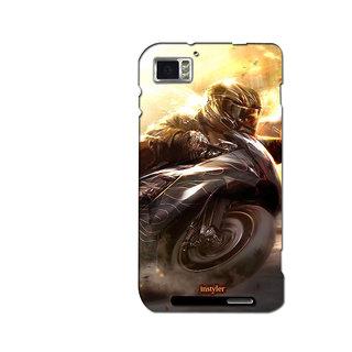 Instyler Mobile Skin Sticker For Lenovo K8601 MSLENOVOK860IDS-10036