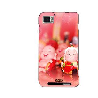 Instyler Mobile Skin Sticker For Lenovo K8601 MSLENOVOK860IDS-10064