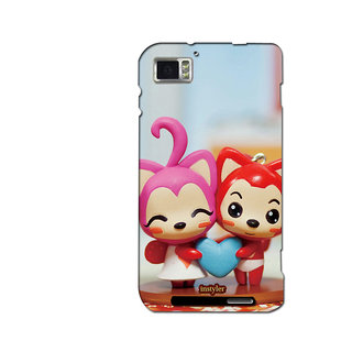 Instyler Mobile Skin Sticker For Lenovo K8601 MSLENOVOK860IDS-10065