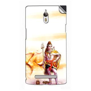 Instyler Mobile Skin Sticker For Oppo X9006 MSOPPOX9006DS-10091