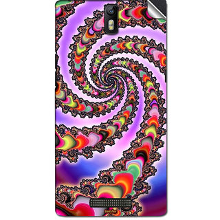 Instyler Mobile Skin Sticker For Oppo X909 (Find5) MSOPPOX909(FIND5)DS-10156