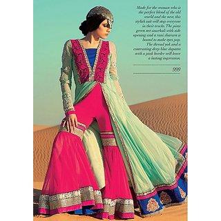 6030f225fa51d Shop Designer Sharara Dress Online - Shopclues