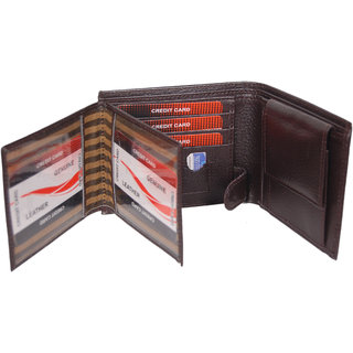 Designer PU Leather Gents Wallet new Men's purse BR128