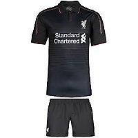 Liverpool Black Football jersey