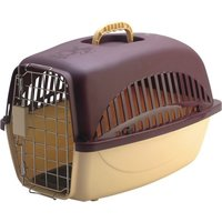 All4Pets Flight cage-L (with steel door  plate mat) (Plastic) A4P P651-C